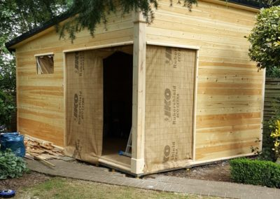 Carpentry for garden sheds and playrooms