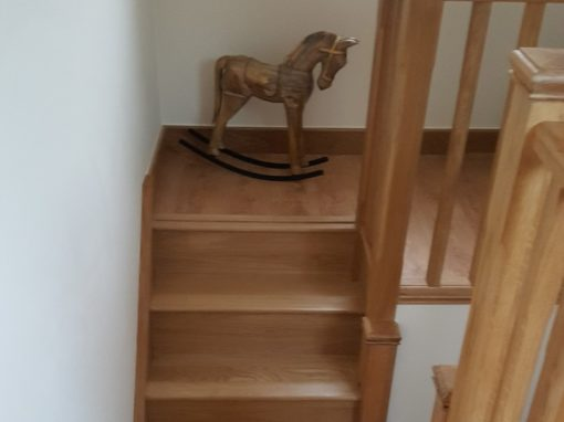 Carpenter for new staircases in Hertford