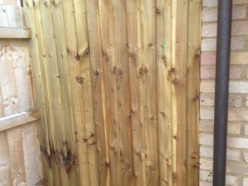 Garden Fence Installer in Hertford