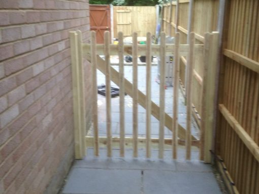 Bespoke garden gates in Hertford